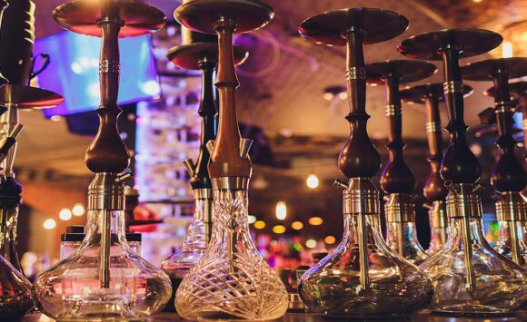 The basic hookah operation principles – through fire and water