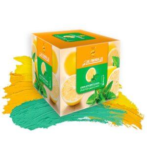 Табак для кальяна Al Fakher (Аль Факер) – Lemon with Mint (Лимон с Мятой)