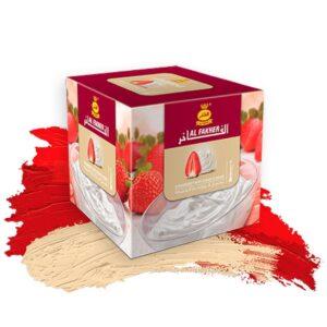 Табак для кальяна Al Fakher (Аль Факер) – Strawberry with Cream (Клубника со Сливками)